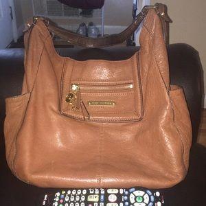 Juicy couture cognac shoulder bag